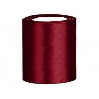 Satijn Lint Donker Rood 100 mm