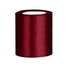 Breed Lint Donker Rood 100 mm