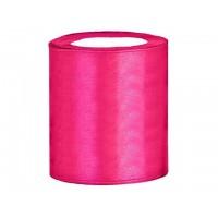 Satijn Lint Donker Roze 100 mm