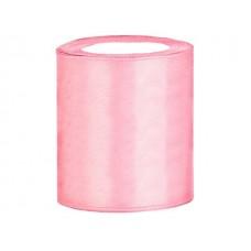 Satijn Lint Licht Roze100 mm