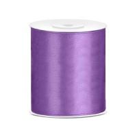 Satijn Lint Lavendel 10 cm