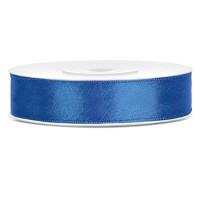 Koningsblauw Satijn Lint 12 mm