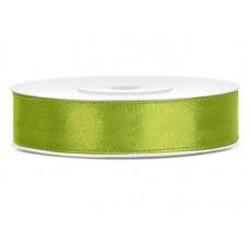 Satijn lint Appel Groen 12 mm