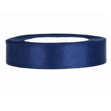 Diep Blauw Satijn Lint 12 mm