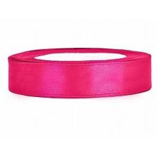 Donker Roze Satijn Lint 12 mm