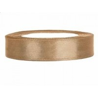 Goudkleurig Satijn Lint 12 mm