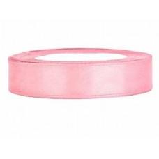 Licht Roze Satijn Lint 12 mm