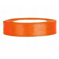 Oranje Satijn Lint 12 mm