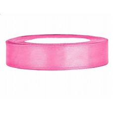 Roze Satijn Lint 12 mm