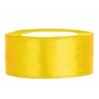 Geel Satijn Lint 25 mm