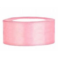 Licht Roze Satijn Lint 25 mm