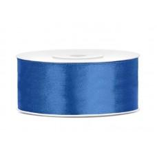 Koningsblauw Satijn Lint 25 mm