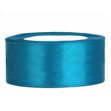 Turquoise Satijn Lint 25 mm