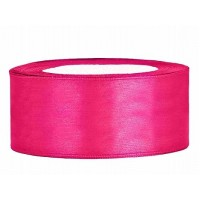 Donker Roze Satijn Lint 25 mm