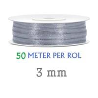 Lint Grijs 3 MM X 50 Meter