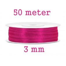 Lint Neon Roze 3 MM X 50 Meter