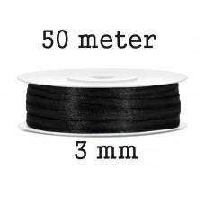Lint Zwart 3 MM X 50 Meter