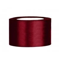 Diep Rood Satijn Lint 38 mm