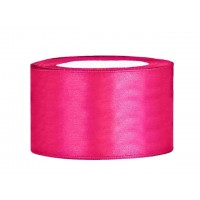 Donker roze Satijn Lint 38 mm