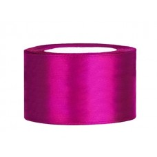 Fuchsia Satijn Lint 38 mm
