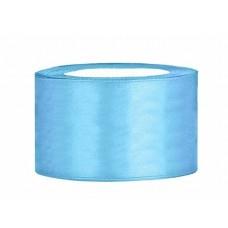 Hemels Blauw Satijn Lint 38 mm