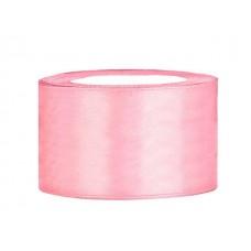 Licht Roze Satijn Lint 38 mm