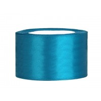 Turquoise Satijn Lint 38 mm