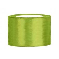 Appel Groen Satijn Lint 50 mm