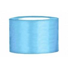 Hemels Blauw Satijn Lint 50 mm