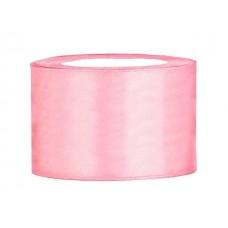 Licht Roze Satijn Lint 50 mm