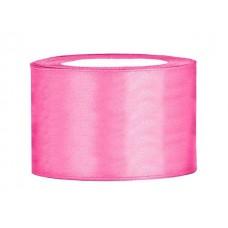 Roze Satijn Lint 50 mm