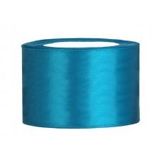 Turquoise Satijn Lint 50 mm