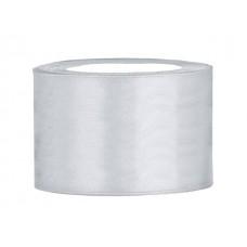 Zilver Satijn Lint 50 mm