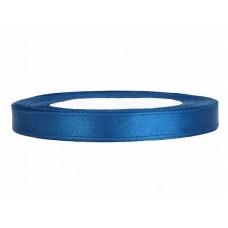 Satijn Lint Blauw 6 MM X 25 Meter