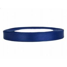 Satijn Lint Donker Blauw 6 MM X 25 Meter