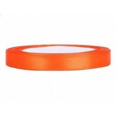 Satijn Lint Oranje 6 MM X 25 Meter