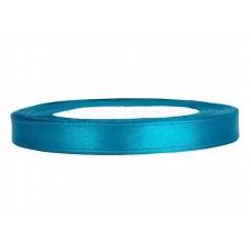 Satijn Lint Turquoise 6 MM X 25 Meter