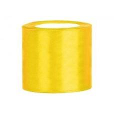 Geel Satijn Lint 75 mm