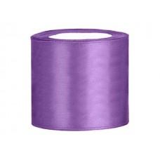 Lavendel Satijn Lint 75 mm
