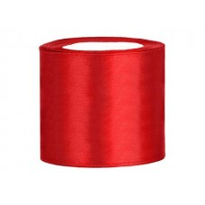 Rood Satijn Lint 70 mm