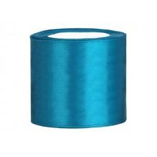 Turquoise Satijn Lint 75 mm