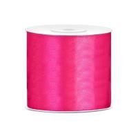 Donker Roze Satijn Lint 75 mm