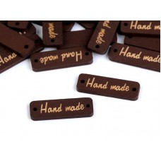 "Bruin label  ""hand made"""