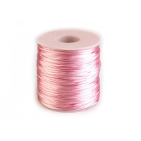 Satijn Koord Licht Roze 1 MM