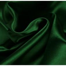 Satijn Stof Donker Groen 150 Cm