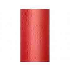 Tule rood 30 cm x 9 meter
