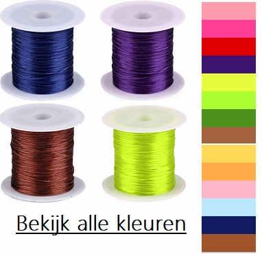 sieraden elastiek in diverse kleuren