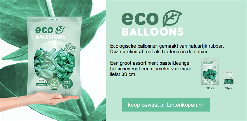 ballonnen milieuvriendelijk