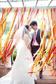 bakdrop bruiloft
