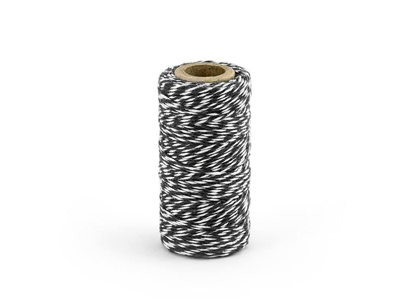 zwart bakkers touw